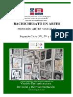 Manual curriculum de arte.