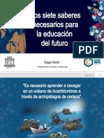 Los Siete Saberes Para La Educacion Del Futuro