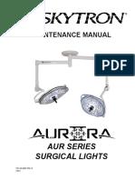 Skytron Aurora II Maintenance Manual