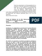 El día 2 de setiembre fue presentado a la Municipalidad de La Victoria.docx
