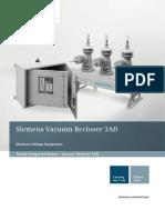 Catalogue Vaccum Recloser 3AD En