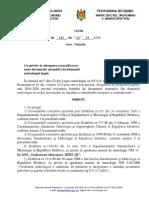 """545c0635609f49bfc777cc62În temeiul art.5 alin.(3) din Legea metrologiei nr.19/2016 şi al Ordinului Ministerului Economiei nr.34 din 2 martie 2016 prin care a fost aprobat """"Programul de perspectivă pentru anii 2016-2020 privind revizuirea fondului de documente normative din domeniul metrologiei în scopul armonizării cu legislaţia şi standardele europene şi internaţionale"""", ORDON:0daefd99_ordin-119-din-24-04-19-n"""