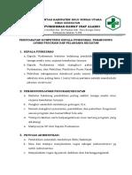 2 3 4 1 Persyaratan Kompetensi Kepala Puskesmas Penanggung Jawab Program Dan Pelaksana Kegiatan