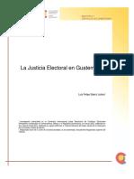 LA Justicia Electoral en Guatemala