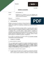 Opinión 123-12 - ELECTROPERU SA - Exoneracion Por Emergencia