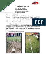 Informe de construcción de losa