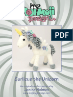 Curlicue the Unicorn