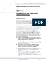 MEX312 - Introduction Lesson 1-1 Properties of Engineering Materials