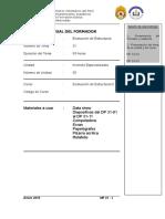 Tema 31 .- Evaluación de Estructuras II (Material Del Formador)