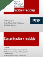 Contaminación y Reciclaje