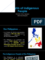 The Rights of Indigenous People