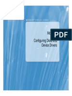 Configuring Disks and Device Drivers
