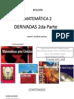 DERIVADAS 2° - 2019