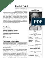 Sardar Vallabhbhai Patel - Simple English Wikipedia, The Free Encyclopedia