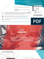 ROHS Update for Phtalate