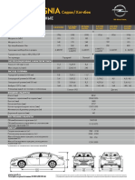 Opel Insignia Technical Leaflets 112014