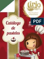 Catálogo de Pasteles Lirio Eventos