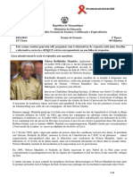 Enunciado Francês 1ªÉp. 12ªclas 2013