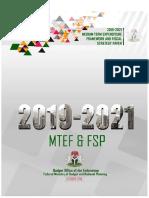 2019-2021 Mtef _ Fsp Updated