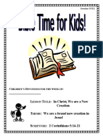 Bible Times for kids