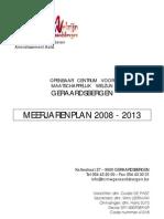 OCMW Geraardsbergen Meerjarenplan 2008-2013