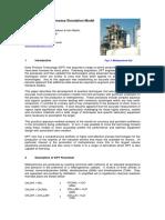 Amine Process Simulation Model Development