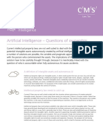 Artificial Intelligence - Questions of Ownership CMS