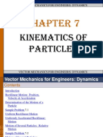 Chapter 7_kinematics of Particles