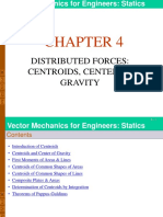 Chapter 4_distributed Forces_centroids, Center of Gravity