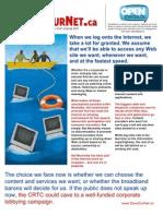 Net Neutrality Flyer