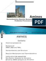 Amines Chenistry Catalysts Production