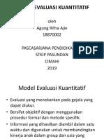 Presentation Evaluasi Kuantitatif