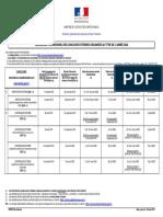 Calendrier Concours Externes 2020 v1