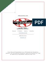 480 Digital Weight Indicator Operator Card