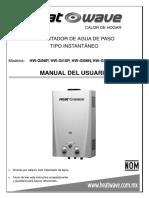 Manual-de-uso-Boiler-Instantáneo-GI06-GI10