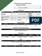 Carmine Marceno Fdle Global Profile Sheet
