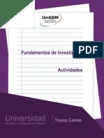 Unidad 1 - Investigacion y Su Entorno