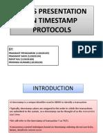Time Stamp Protocols