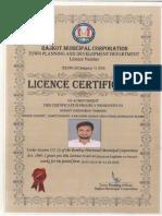 Licence Certi.