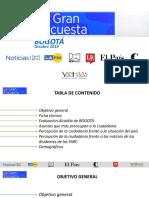 La Gran Encuesta Alcaldía de Bogotá
