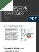 Convertidor Bof de Soplo Combinado