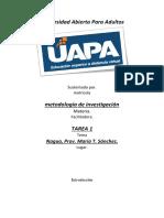 metodologia tarea 1