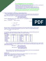 Konsep Mol Dan Perhitungan Kimia