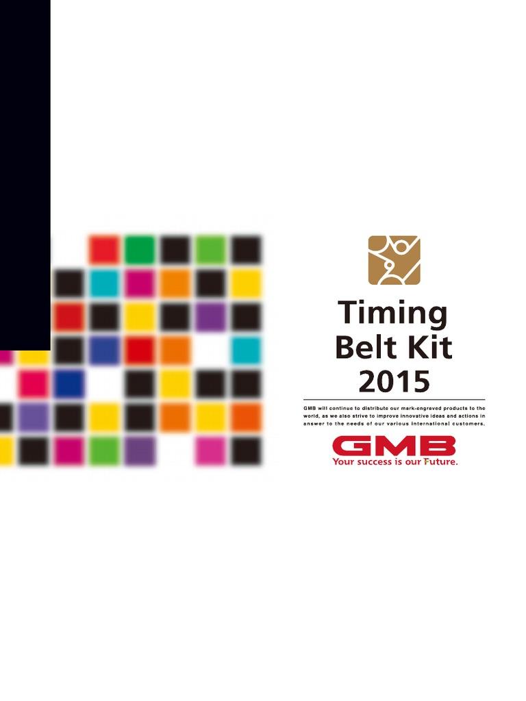 Mazda FE09-12-205 Engine Timing Belt