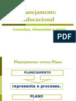 3 PLANEJAMENTO EDUCACIONAL - Conceitos Dimensoes e Niveis