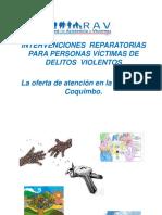Intervenciones Con Victimas de Delitos Redes Locales Rav 2017