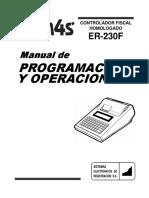 ER 230F Manual de Programacion