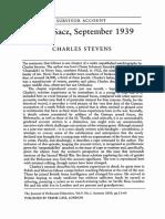 Nowy Sacz September 1939 by Charles Stevens (Chaim Sieradski)