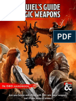 DnD magic weapons