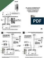 Placa Compact Analog Fonia Hi 140